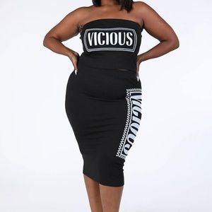 Dresses & Skirts - Viccious Printed Skirt Set